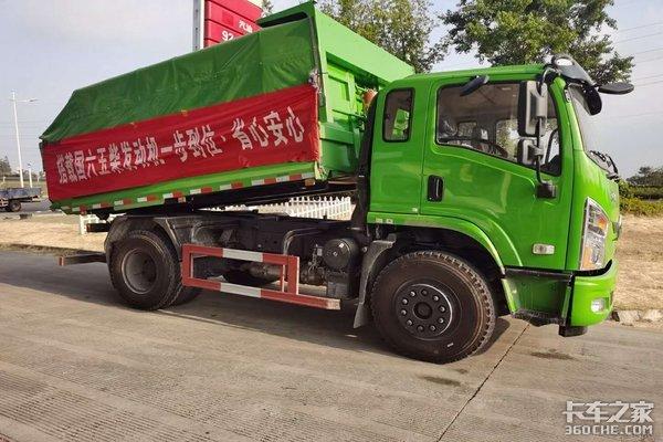 东风拓行工程自卸车南京地区上市巡展
