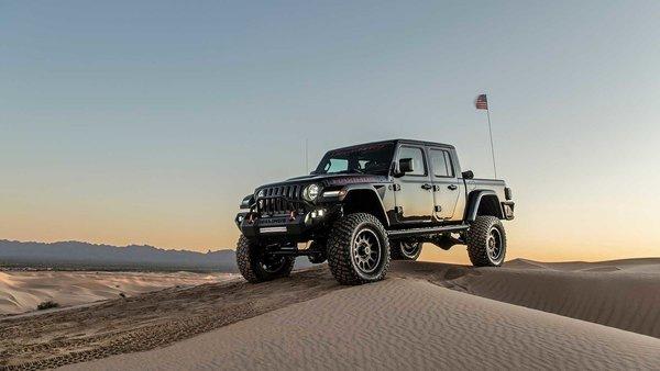 """牧马人变""""房车""""Jeep推出柴油概念皮卡"""