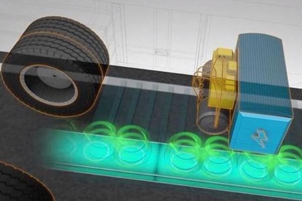 货车制造新技术 行驶途中可以无线充电