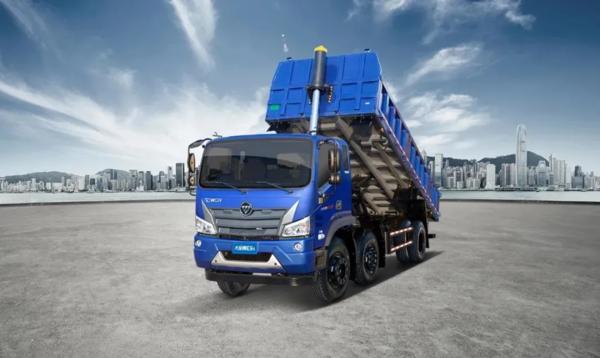 破解工程运输难题,大金刚ES5三轴国六自卸车有实力