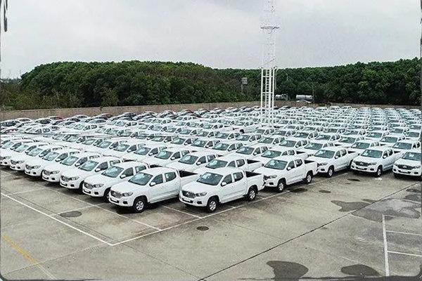 出口400台上汽大通T60获卡塔尔大订单成为中国皮卡出口之最