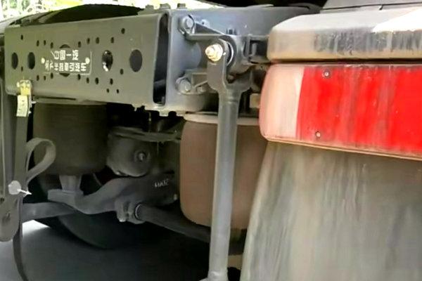 测试如火如荼配空气悬挂+自动挡的解放J6P你不一定见过
