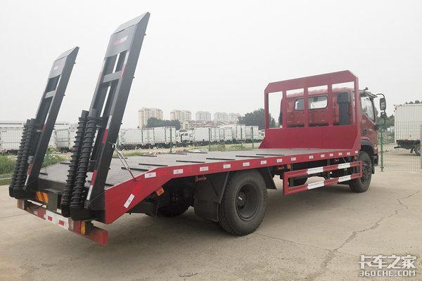 搭载国六潍柴发动机瑞沃ES3低平板运输车图解!多种尺寸可选