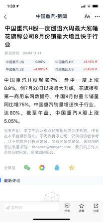 揭开中国重汽股价连连上升即将面市的黄河新车神秘面纱
