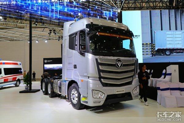 国六560马力欧曼EST高效可靠的物流利器
