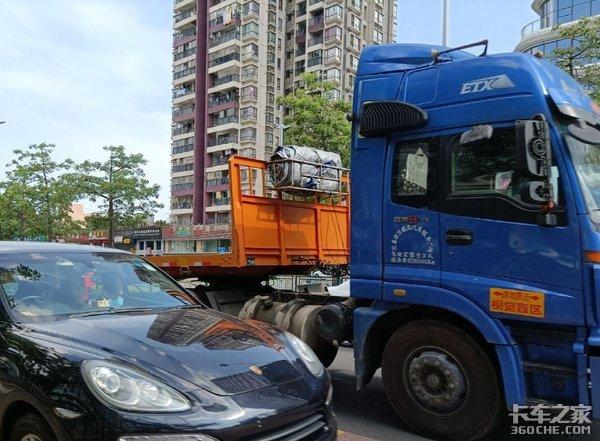 为赌一口气国道上互相别车,结果货车司机被立案调查悔不当初