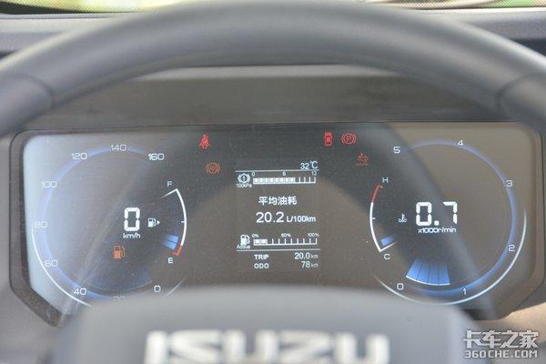 车市速看:大马力城际快运神器国六170马力的五十铃翼放ES5了解一下