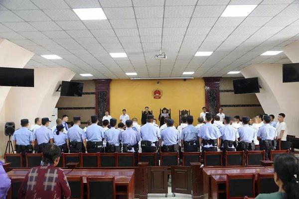 最高17年!陕西榆林27人敲诈大车司机的黑社会组织被公开宣判