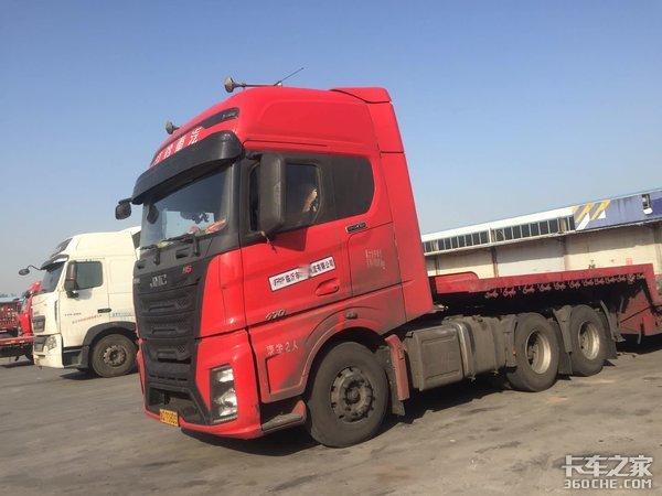 江铃威龙HV5牵引车怎么样?卡车司机:车挺好,售后有点不方便