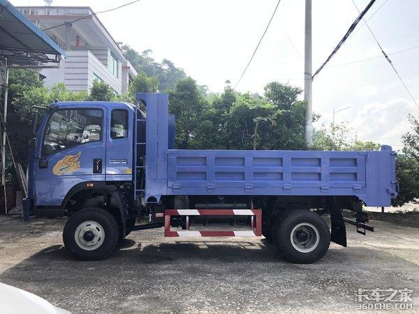 """山区运输车中的""""高富帅"""",重汽豪曼自卸车实力不简单"""