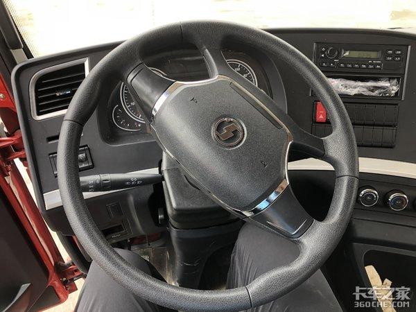 单人长途驾驶拉海柜,这款陕汽德龙新M3000是个不错的选择
