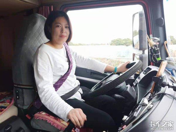 为了帮老公分担辛苦,她偷考驾照,从卡嫂转型成一名女司机