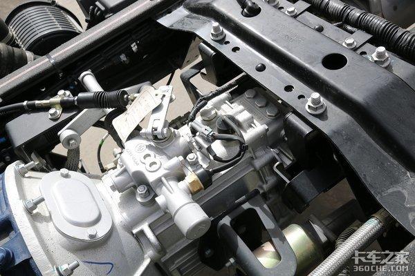 长换油设计更省钱陕汽K3000中体版图解