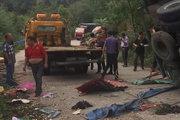 蒜瓣货车掉入沟中 众人帮忙无人哄抢!后续事故却造成8人死亡!