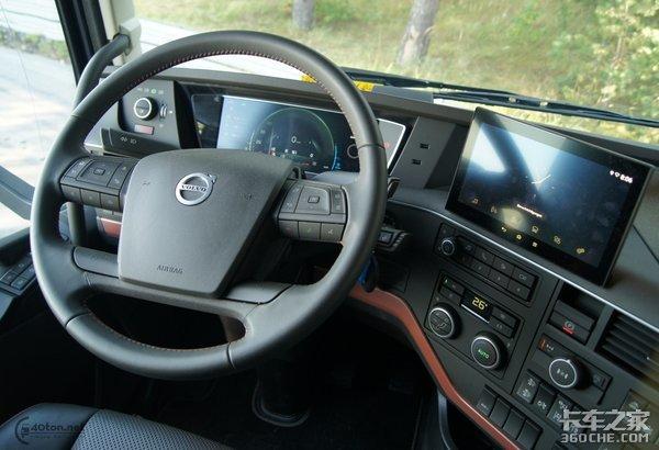 最大750马力改款沃尔沃FH16不负众望!