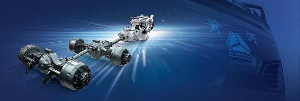 中国重汽发布新一代高端干线物流牵引车