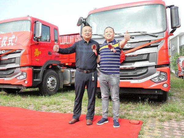交车签约双喜临门,格尔发助力华东物流高质量发展