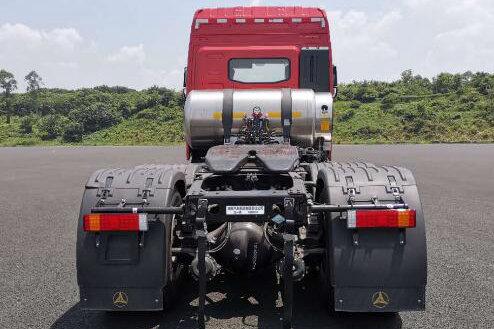 车市速看:正义重卡来袭!搭载全新玉柴国六燃气机的三一重卡