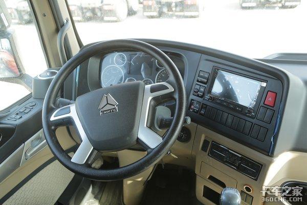 车市速看:全能的小三桥车型280马力的豪沃TX5