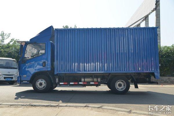 车市速看:国六AMT+新驾驶室这台跃进快运H500开起来像轿车