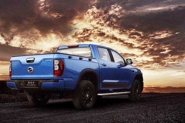 售价10.28-13.88万元货箱宽度超1.6米2021款中兴领主柴油乘用版上市