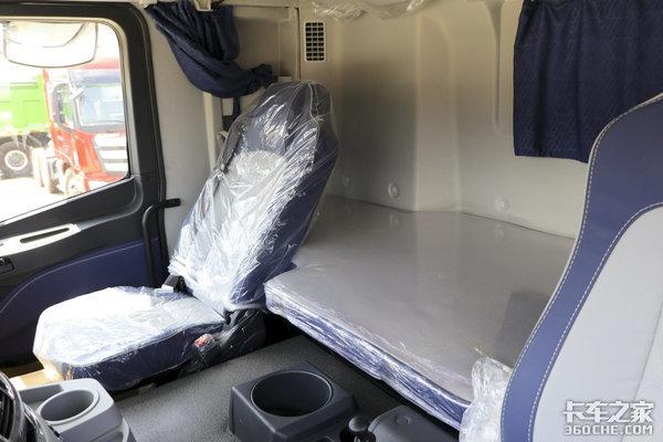 欧曼新款驾驶室谍照曝光!卧铺或将增加几十公分这尺寸可不小