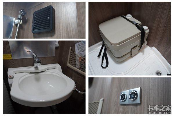 开解放JH6+生活舱吃热乎饭洗热水澡睡安稳觉