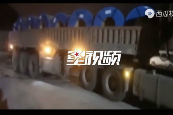"""核载49吨实载108吨!货车装载8个""""铁饼""""地磅瞬间失灵"""