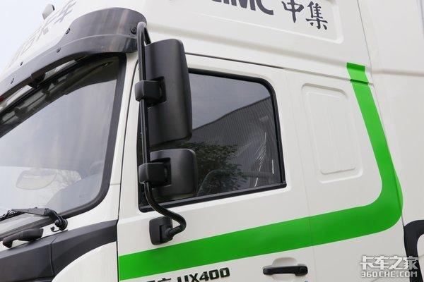 国六玉柴400马力售价43.09万元的联合UXLNG牵引车你喜欢吗
