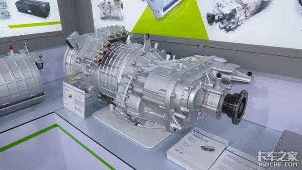 集成双电机可外接发动机可回收发电精进电动展示4挡混动变速器