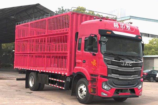 2种国六动力支持18吨公告江淮6米8载货车公示