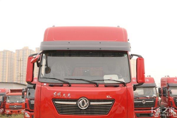 465东风动力助力绿通运输34.1万天龙9米6载货车图解