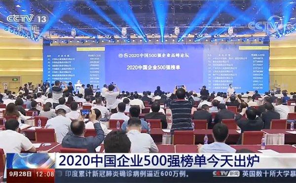 牛!潍柴集团登榜2020中国企业500强第83位