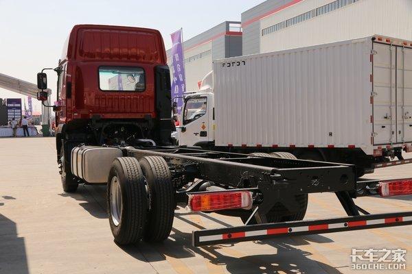 车市速看:210马力+高顶双卧驾驶室福田欧航R系再推长途6米8