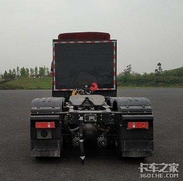 烧氢气的燃料电池半挂牵引车 先睹为快