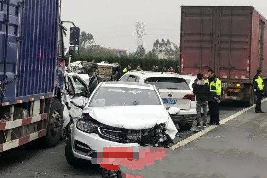 8车追尾致3死!货车司机获刑4年3个月