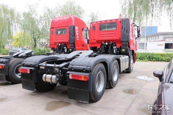 车市速看:上菲红C11430+法士特12挡红岩杰狮M500版平顶