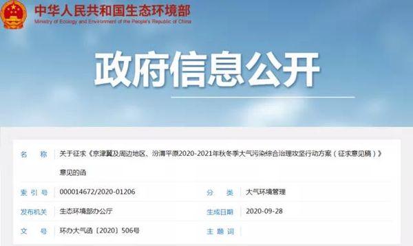京津冀最新停工令要来了 货源受影响吗