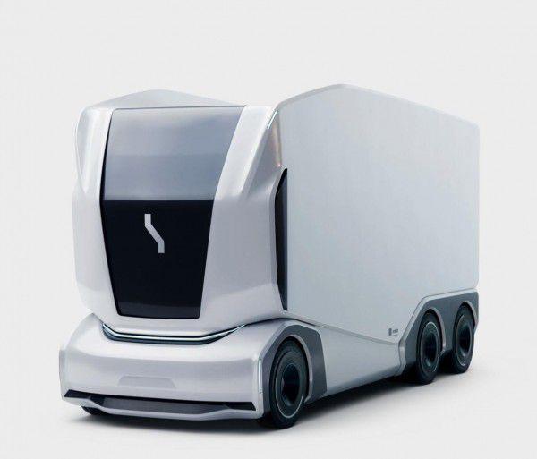 科技感爆棚Einride发布无人驾驶货车最高续航180公里