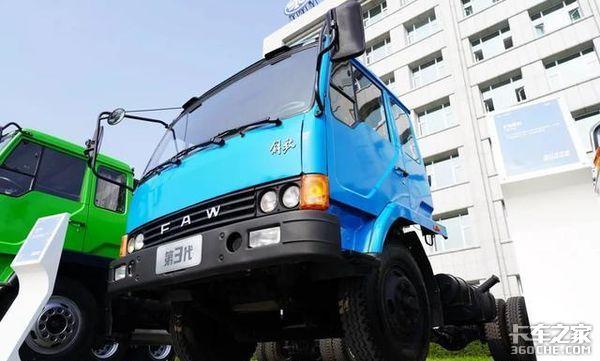 解放六平柴速评:它是解放卡车平头化柴油化的代表