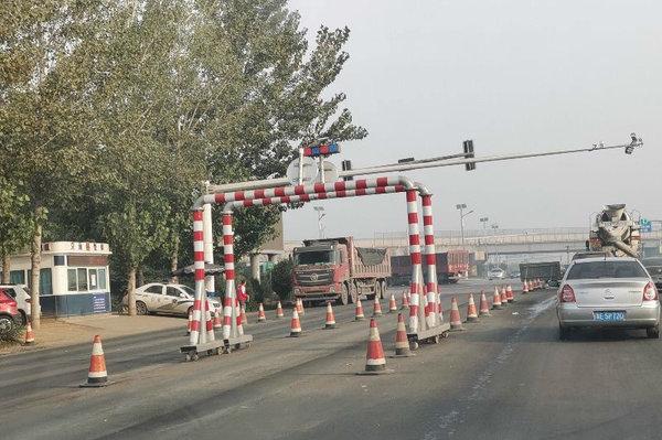 邢台:外环限高2.4米黄牌大货车24小时禁行