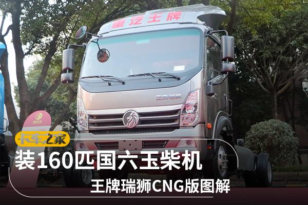 装160匹国六玉柴机王牌瑞狮CNG版图解