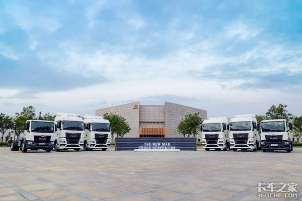 新一代TG系列卡车火速引进国内,德国曼为何如此重视中国市场?