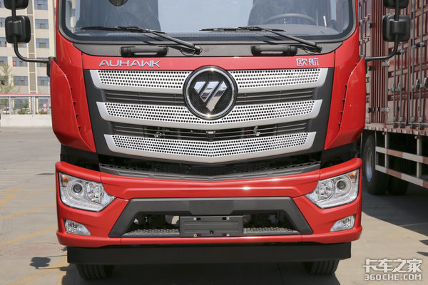 配福康220国六动力6米8欧航载货车不仅仅有双卧!配置照样给力