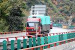 线凉桥至栗子坪段受损严重 10月14日起3轴以上货车禁行 通行时间未定