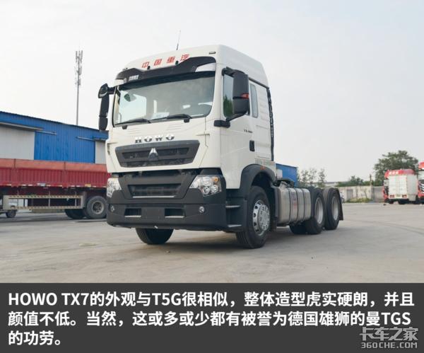 最低自重仅7.9吨中国重汽HOWOTX7实拍