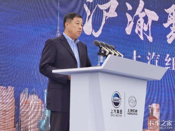 投资11亿产能达15万台预计2022年3月投产上汽红岩智慧工厂正式开建