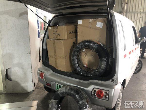 别看块头小,拉货可真不少,昌河北斗星电动货车来了