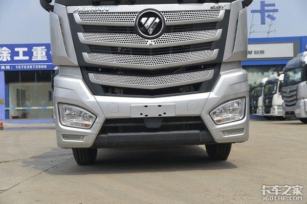 福康560马力油箱1100L图解专拉冷链的AMT欧曼EST