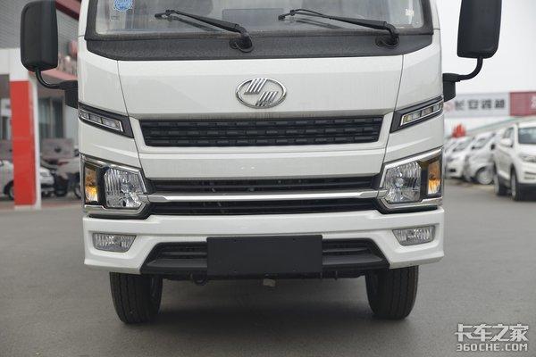 国六柴油动力还有2吨大装载这台福运S80小卡跑城配太实用了